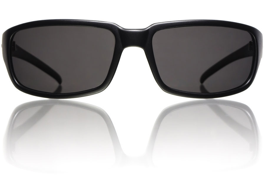 Raptor-Black-Matte-Grey-Polycarbonate-Polarized-Front-Bucci-Sunglasses-wb