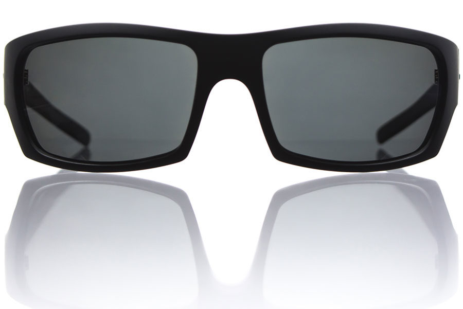 Torn-Black-Matte-Grey-Polycarbonate-Polarized-Front-Bucci-Sunglasses-wb