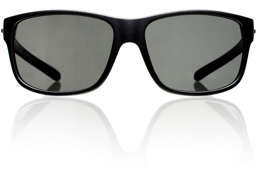 The-Hook-Black-Matte-Grey-Polycarbonate-Polarized-Front-Bucci-Sunglasses-wb